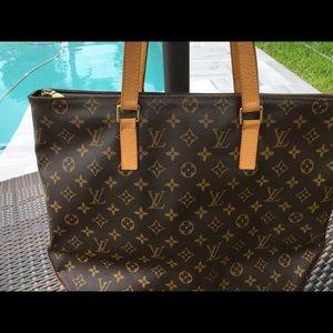 Louis Vuitton Cabas Mezzo tote